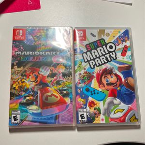 Switch Games: Mario Kart, Mario Party for Sale in Houston, TX