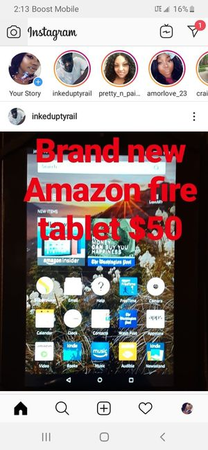 Amazon fire HD 7 tablet (4th generation ) for Sale in Houston, TX