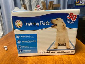 15 ct. training pads for Sale in Lock Haven, PA