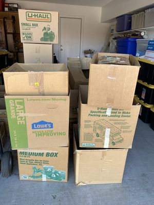 Free Moving boxes! for Sale in Phoenix, AZ