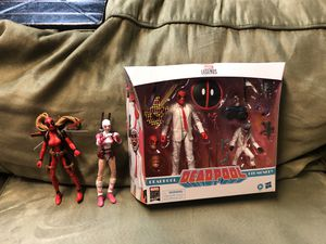 Marvel legends Deadpool lot for Sale in Lemon Grove, CA