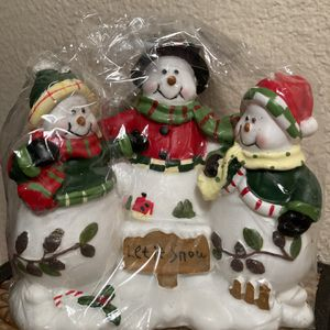 Snowman Candle Trio ☃️ for Sale in Sherwood, OR
