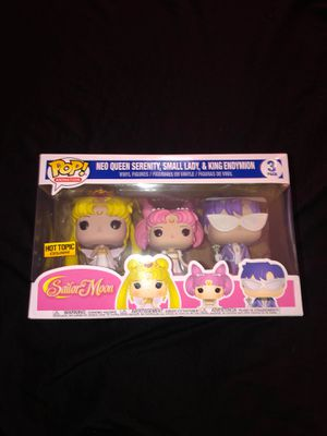 Sailor moon Funko Pop 3 pack for Sale in El Segundo, CA