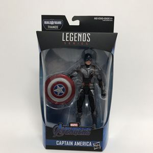 Marvel legends Series avengers captain america actin figure BAF Thanos for Sale in Los Angeles, CA