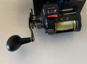 Penn Fathom II levelwind 20 left handed line counter reel for Sale in San Diego, CA
