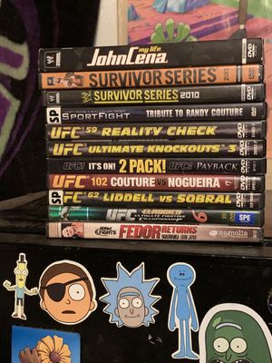 UFC/WWE DVDS for Sale in Austin, TX