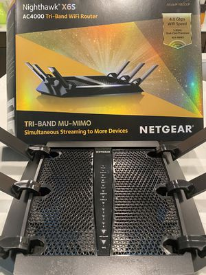 R8000P — Nighthawk X6S AC4000 Tri Band WiFi Router for Sale in Gold Canyon, AZ