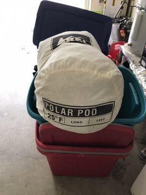 REI polar pod sleeping bag for Sale in Bonney Lake, WA