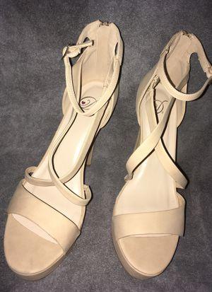 Beige High heels size 9 for Sale in Phoenix, AZ