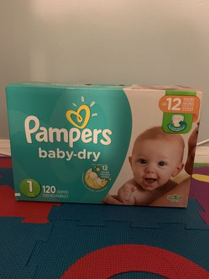 Pampers Baby Dry Diapers for Sale in South Gate, CA