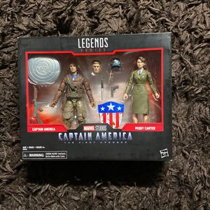 Marvel Legends Captain America /Peggy Set for Sale in San Diego, CA
