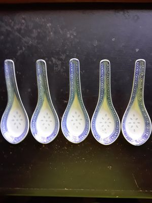 Vintage Chinese Rice Spoons for Sale in Calion, AR