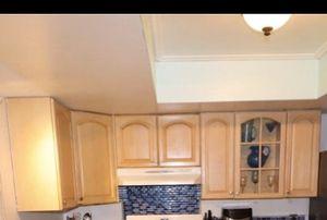 9 Wood kitchen cabinets for Sale in Pembroke Pines, FL
