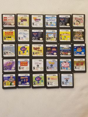 Nintendo 3DS DS Game Lot Bundle for Sale in Dallas, TX