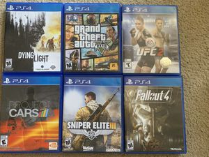 PlayStation 4 games for Sale in Honolulu, HI