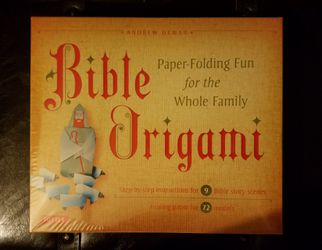 Bible Origami Kit by Andrew Dewar for Sale in Harvel,  IL