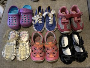 Girl shoes size 5 1/2 - 6c for Sale in Azusa, CA