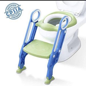Mangohood Potty Training Toilet Seat with Step Stool Ladder for Boy and Girl Baby Toddler Kid Children's Toilet Training Seat Chair for Sale in Las Vegas, NV