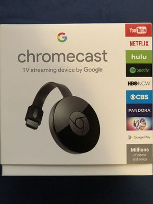 SEALED BOX Chromecast for Sale in Alhambra, CA