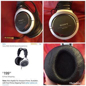 Sony Headphones (MDR-XD200) for Sale in Fairfax, VA