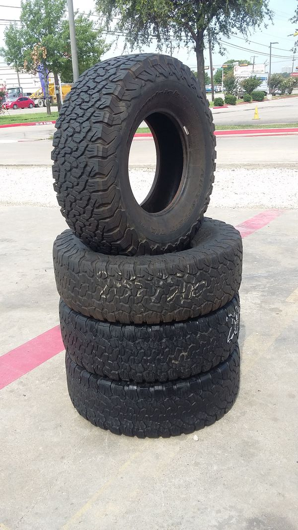 285 75 16 >> 4 Used Lt 285 75 16 Bfgoodrich All Terrain T A Tires For Sale In