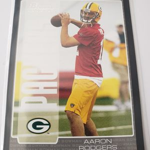 Aaron Rodgers Bowman Rookie for Sale in Compton, CA