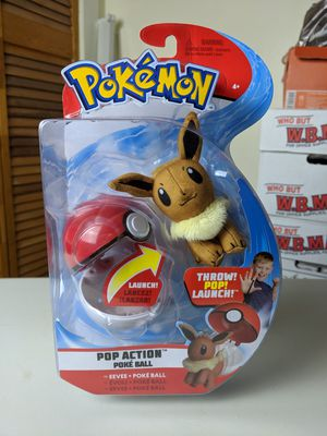 Pokemon pop action poke balls Eeve for Sale in Palmer, MA
