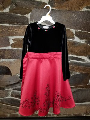 Girls Holiday Dress Size 6X for Sale in Port Orchard, WA