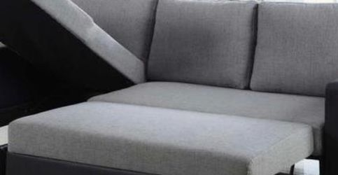 Reversible Sleeper Sectional With Storage for Sale in Miami,  FL