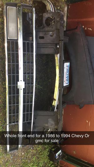 Chevy and gmc front end part for Sale in Arlington, WA