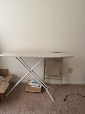 Mainstays Strong and Sturdy Ironing Table for Sale in Upper Arlington, OH