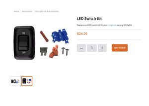 LED Swtich Kit for RV and Marine SR0101 for Sale in Phoenix, AZ