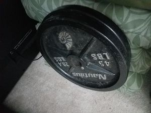 45 lbs Weight Plates for Sale in Mill Creek, WA