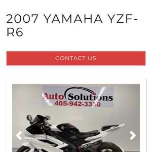 2007 Yamaha R6 for Sale in Oklahoma City, OK
