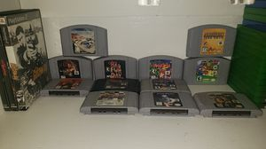 N64 games selling as a whole for Sale in Mesa, AZ