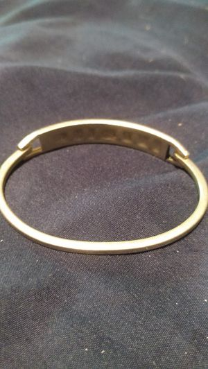 Onyx 925 silver bangle for Sale in Greenwood, IN
