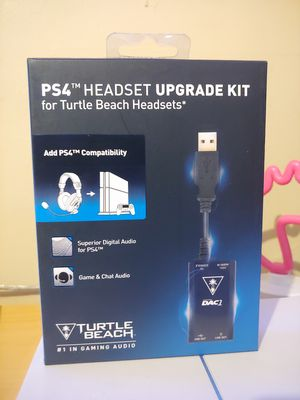 Ps4 headset upgrade kit for turtle beach for Sale in Portland, OR