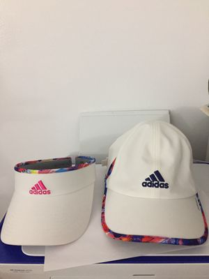 Adidas women cap and visera for Sale in Jersey City, NJ