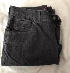 Girl's Clothing Gloria Vanderbilt Grayish black Jeans Size 4 for Sale in Knightdale, NC