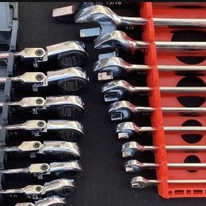 Flexible Ratcheting Wrench Sets 12-Point 20-Piece METRIC and STANDARD for Sale in Henderson, NV