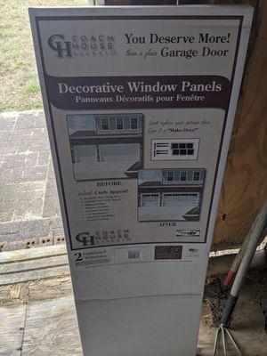 Decorative barn panels for garage door for Sale in Suffolk, VA
