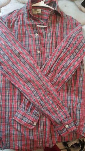 Plaid club room shirt for Sale in Washington, DC