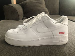 SUPREME AIR FORCE 1 SIZE 10 for Sale in Cincinnati, OH