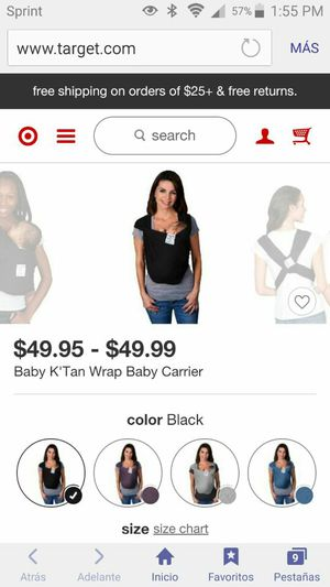 Baby carrier for Sale in Greensboro, NC