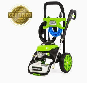 Greenworks2000-PSI 1.2-GPM Cold Water Electric Pressure Washer for Sale in Irving, TX