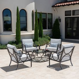 Patio Furniture Foremost Keller 5 Piece Patio Chat Set (NEW IN BOX) for Sale in Lemont, IL