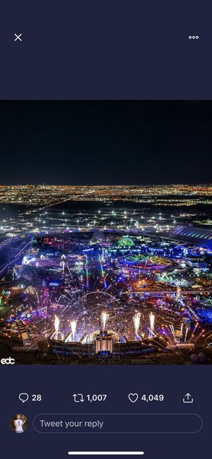 2 EDC 2020 tickets for sale for Sale in North Las Vegas, NV