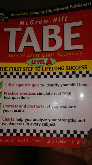 TABE , level A asking $16 for Sale in West Palm Beach, FL