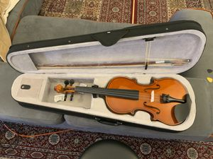 Brand New 4/4 Full Size Violin with case, Bow and Rosin for Sale in Arlington, TX