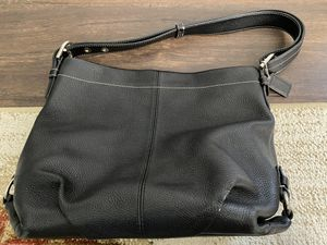 Coach Black Leather Hobo Bag for Sale in Tustin, CA